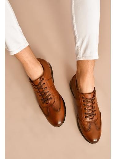 Ziya Hakiki Deri Ayakkabı Taba